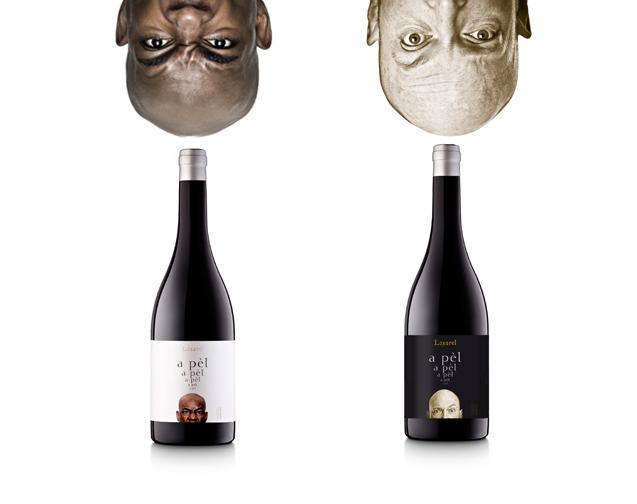 A Pèl blanco tinto vino natural