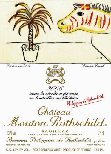 2006 chateau rotschild  freud