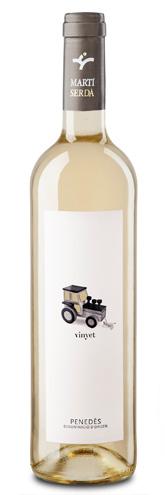vinyet etiqueta vino