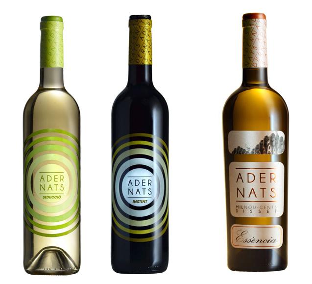 adernats etiqueta vino