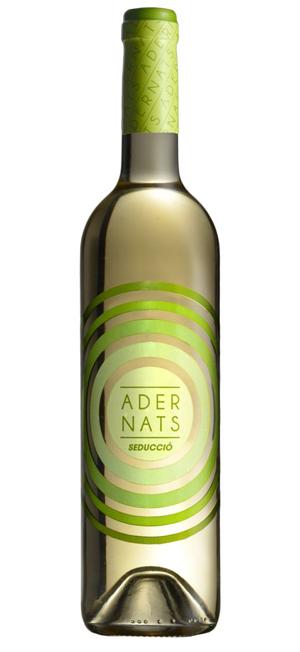 adernats vino blanco etiqueta
