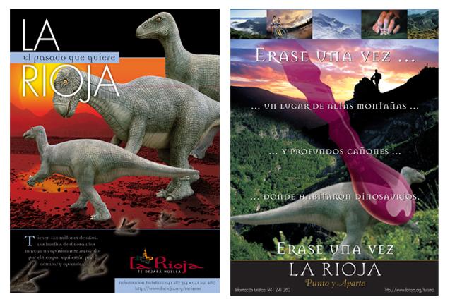 Campañas de promoción de La Rioja entre los años 2002 y 2004