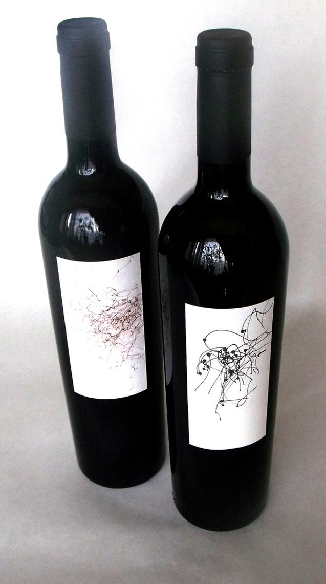 etiqueta vino zephyros