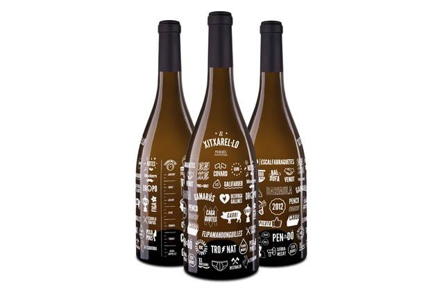 xitxarel·lo marti serdà botella original vino