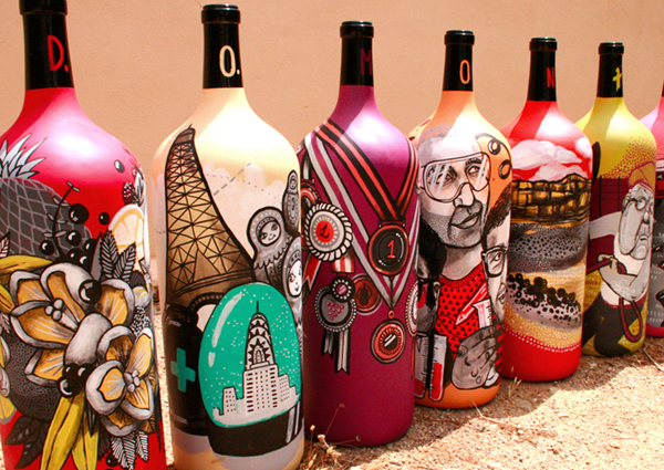 vino marina capdevila ilustracion