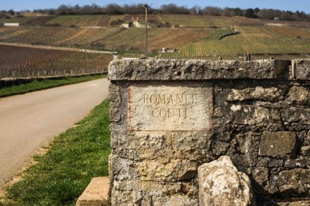 Ruta des grands crus borgoña romanee conti