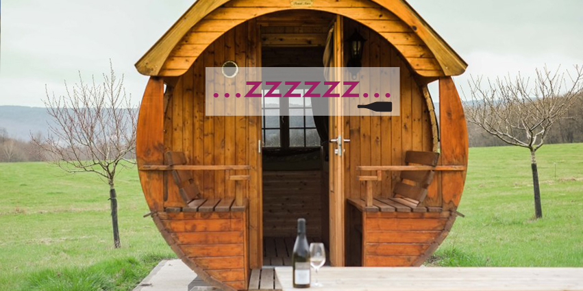 dormir en una barrica de vino en la borgoña