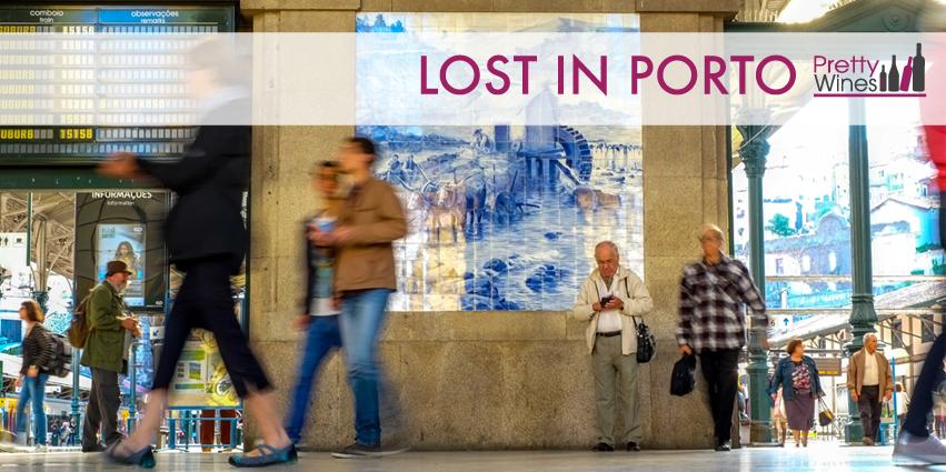 La estación de Porto. Enoturismo. Turismo