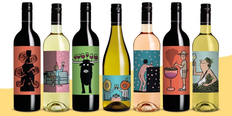 diseño etiquetas vino jean julien wine