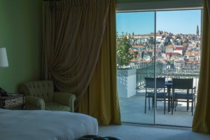 habitación de lujo del Yeatman winehotel Porto