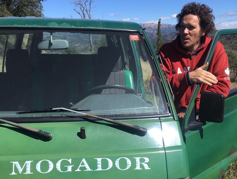 entoturismo priorat furgonet clos mogador