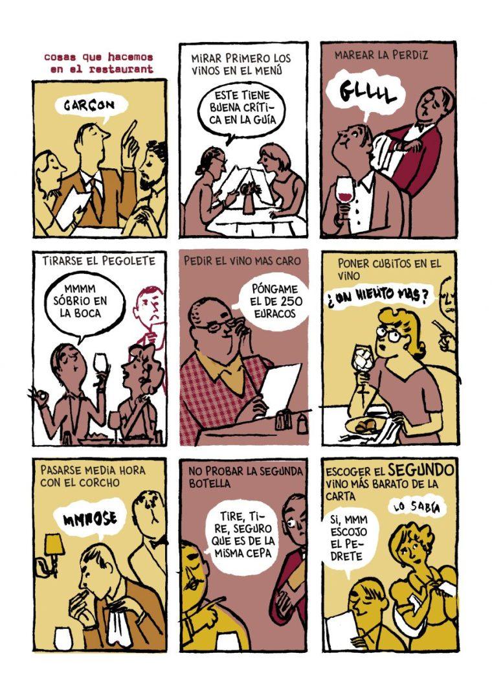 comic miguel gallardo vino