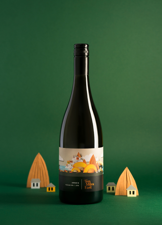 etiqueta vino original
