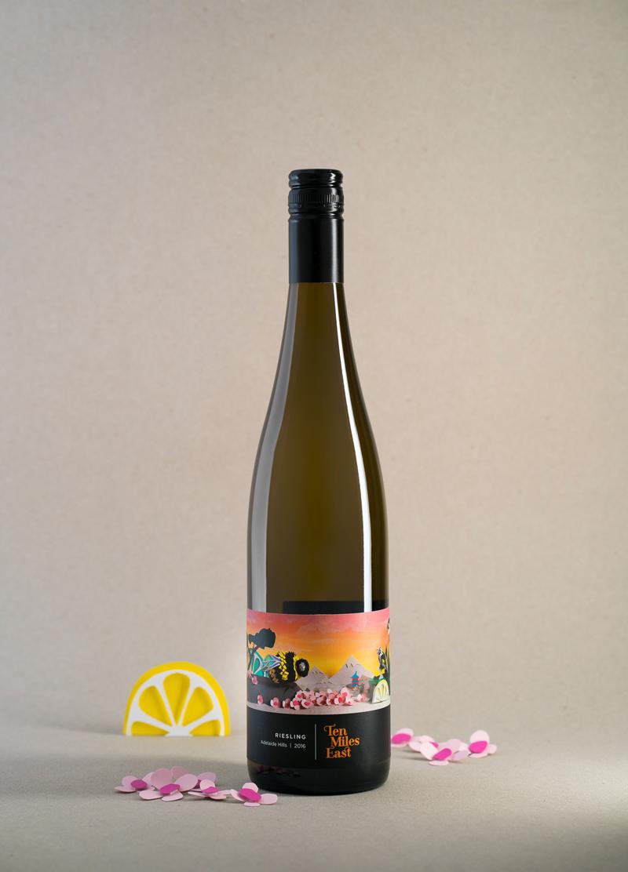 diseño etiqueta vino original