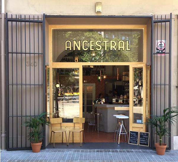 ANCESTRAL bar de vins de Barcelona